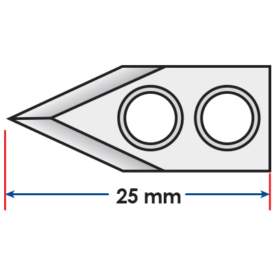 pointed Blade for Multivac<sup>®</sup>